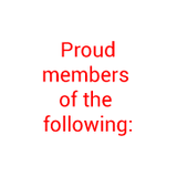 Proud Members of the Following